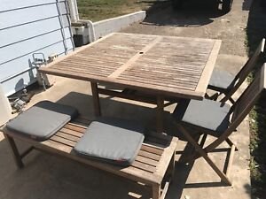 outdoor setting in Brisbane Region QLD Outdoor Dining Furniture
