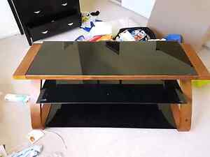 Glass tv stand Mitchelton Brisbane North West Preview