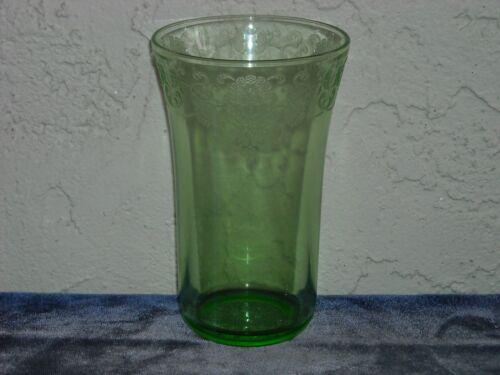 Florentine Poppy 2 Iced Tea Tumbler  Green