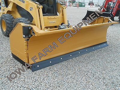 Horst 3200 Skidsteer Qa Snow Wingsnow Pusher9closed-14open Steel Trip Edge