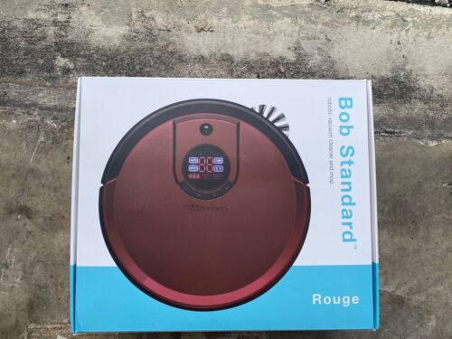 bObsweep PetHair Robotic Vacuum Cleaner and Mop, Rouge