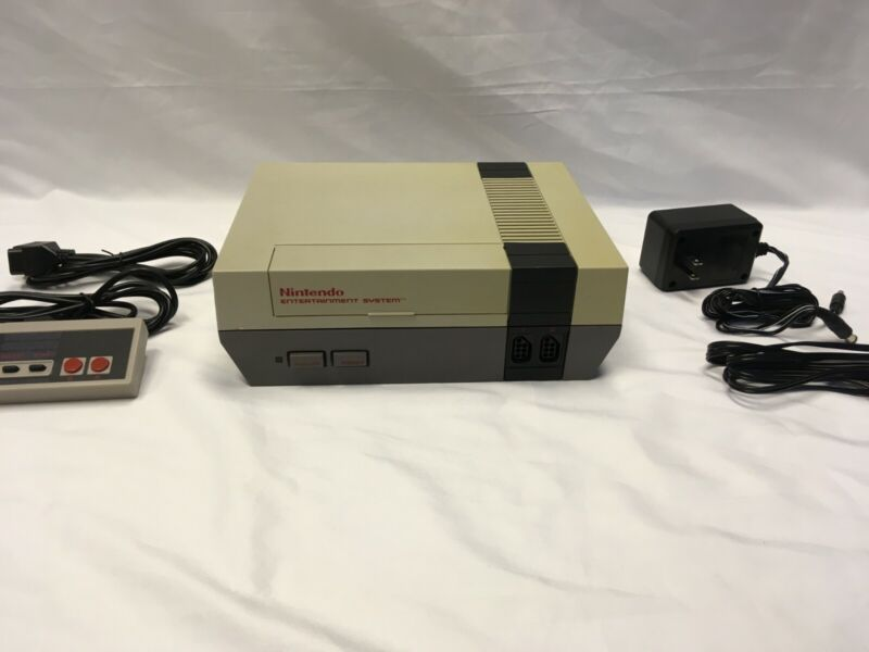 "Original NES Console Set TESTED - ""Good""-""Very Good"""