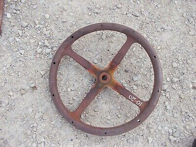 Mccormick 1928 Farmall 1020 Ih Tractor Original Steel Metal Steering Wheel