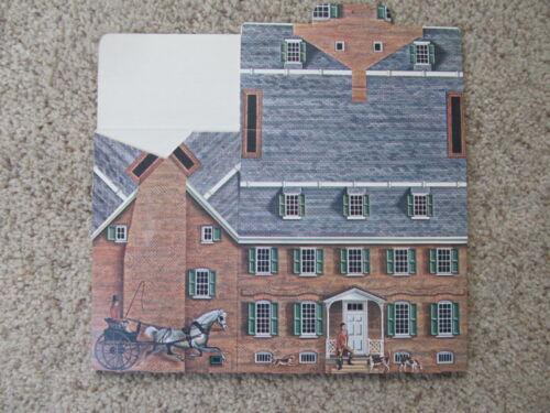NEW Reynolds Tavern & 1747 Pub - Annapolis, Maryland - Cardboard Replica - 1982