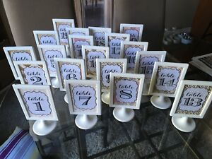 Table Frames & Numbers