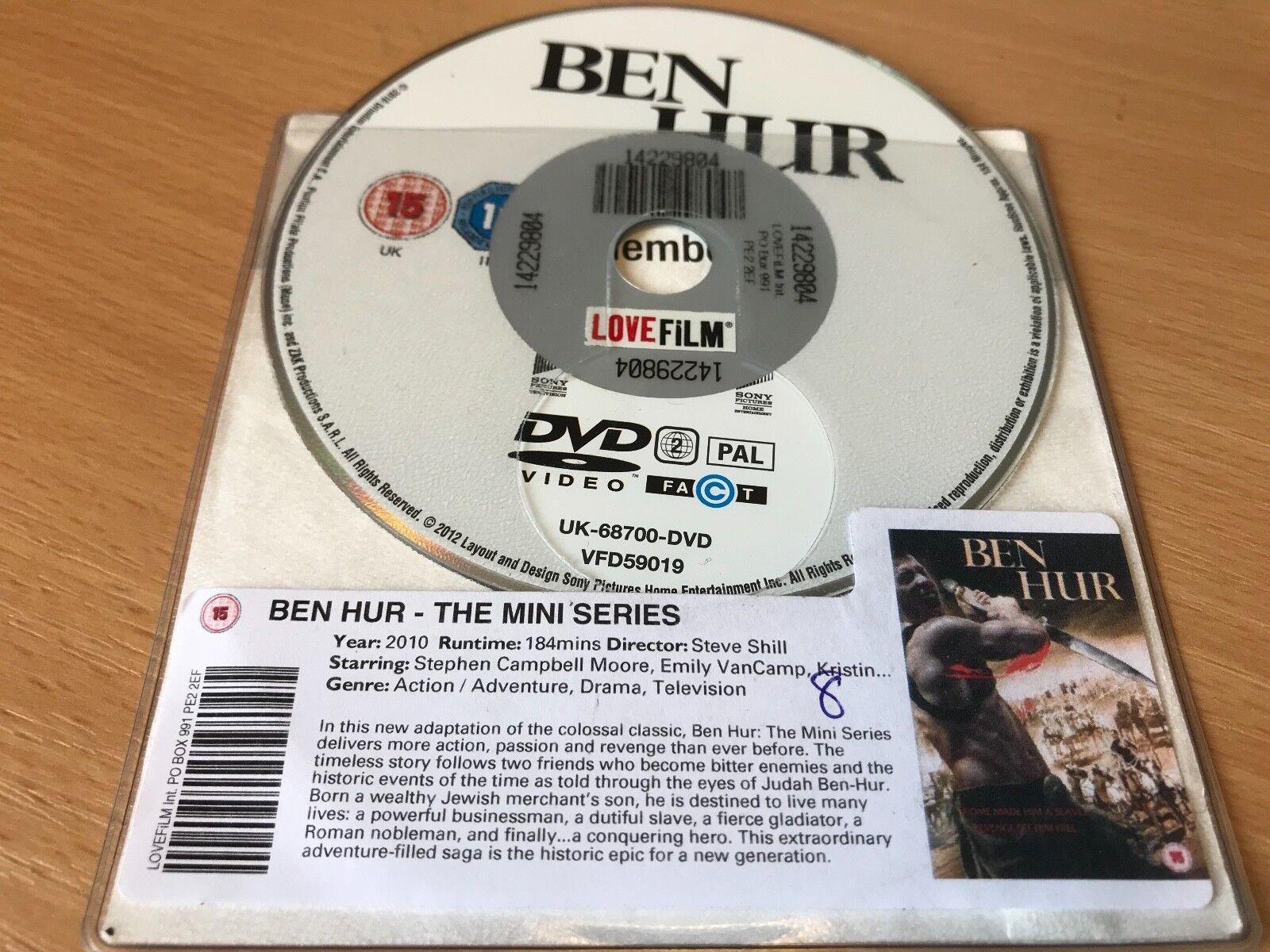 Ben Hur (DVD, 2012) DISC ONLY