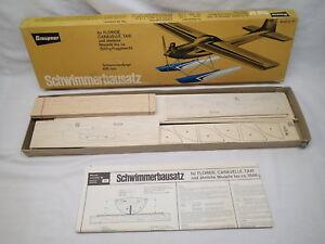 Graupner No 123 Vintage Float Kit for RC Caravelle & Taxi Planes Rare Unbuilt