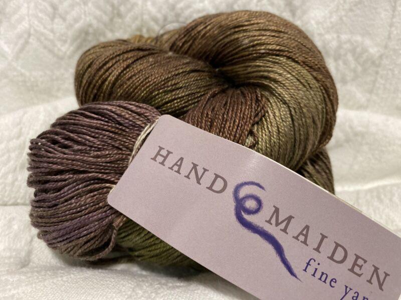 "1 Skein Handmaiden Sea Silk Yarn ""Boreal"""