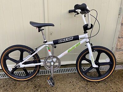 BMX Raleigh Mag Burner 2008 Competition 23 Oval Section Completely Original 2008