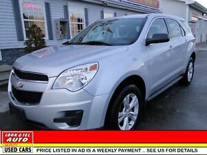 2012 Chevrolet Equinox you're approved $77.58 a week tax inc. LS