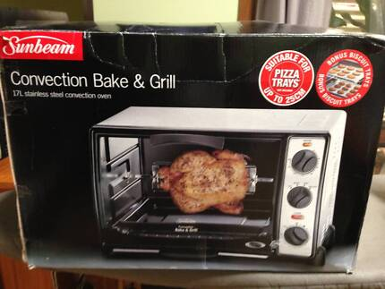 Sunbeam convection bake and grill oven