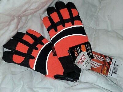 Warm Insulated Waterproof Winter Work Gloves Majestic Armorskin Winter Hawk Sz S