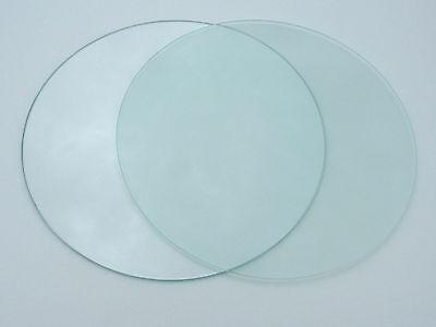 Float-glas (Glasscheibe rund 4mm Klarglas oder satiniert Zuschnitt nach Maß Floatglas)