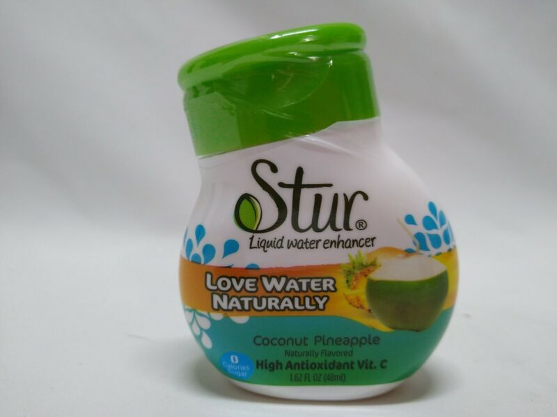 STUR Coconut Water Pineapple Drink Mix, 1.62oz