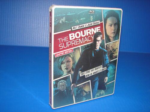 The Bourne Supremacy (blu-ray/dvd, 2014, Includes Digital Copy) Steelbook *new*