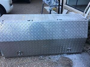 Tong brand - aluminium tool box Capalaba Brisbane South East Preview