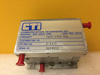 Communication Techniques A-6312 5925 To 6425 Mhz Sma F Rf Power Amplifier