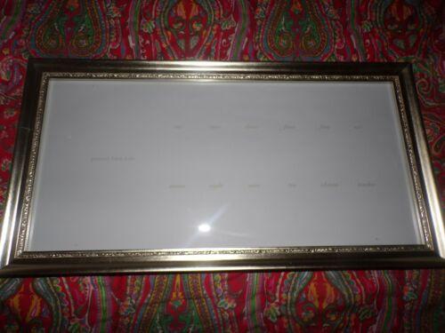 POTTERY BARN Silver Leaf First Year Frame, NEW, NO MATT, READ