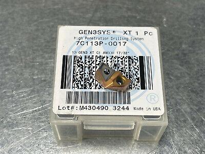 Amec 1732 Carbide Spade Drill Insert 13 Gen3 Xt C1 Gen3sys 7c113p-0017