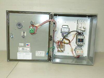 Cerus Motor Starter 1 5Hp 480V Cpt Hoa Run Light Electronic Overload Nema 4 New