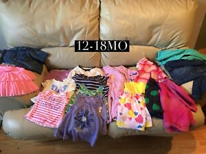 Girls clothes, 12-18mo