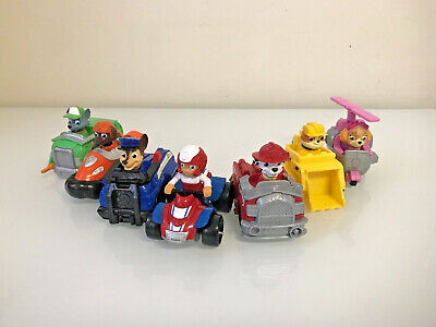 Paw Patrol Paw Racer Gift Set Vehicles 7 Figures Toys Car Rescue