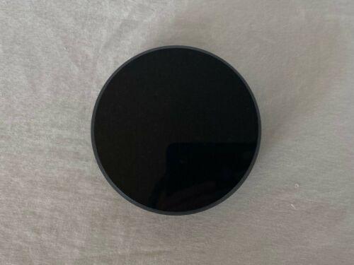 Black Granite Base for Fine Art Sculptures - 4 x 1 Round
