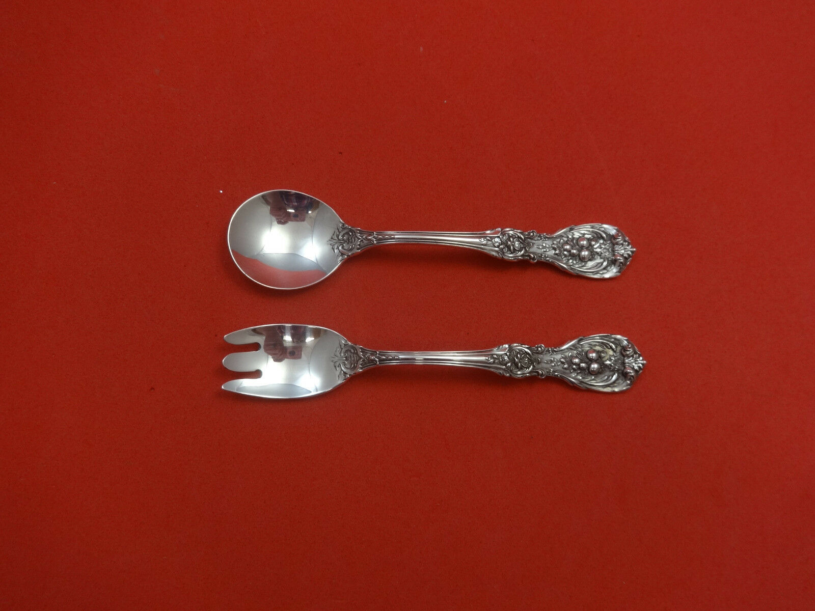Francis I by Reed /& Barton Sterling Silver Salad Serving Set 2pc HHWS  Custom