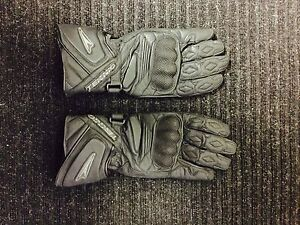 Teknic leather motorcycle gloves