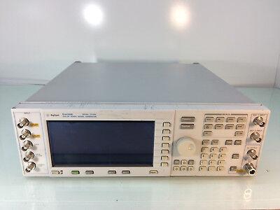 Hp E4436b Signal Generator 250khz-3ghz W Opt 202 H14 Un8 Un9 Und Tested