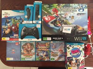 WiiU Bundle 4 controls 6 games as new in boxes for all Geelong Geelong City Preview
