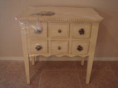 Hand Painted Six Drawer Chest - TRACY PORTER STONE HOUSE FARM GOODS HAND PAINTED SIX DRAWER CHEST
