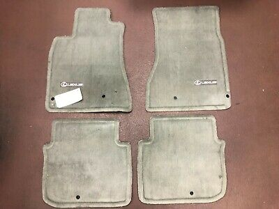 LEXUS GS 1998-2005 4PCS IVORY CARPET FLOOR MATS REAR WHEEL DRIVE PT208-30980-08 Carpet Floor Mats Rear Wheel