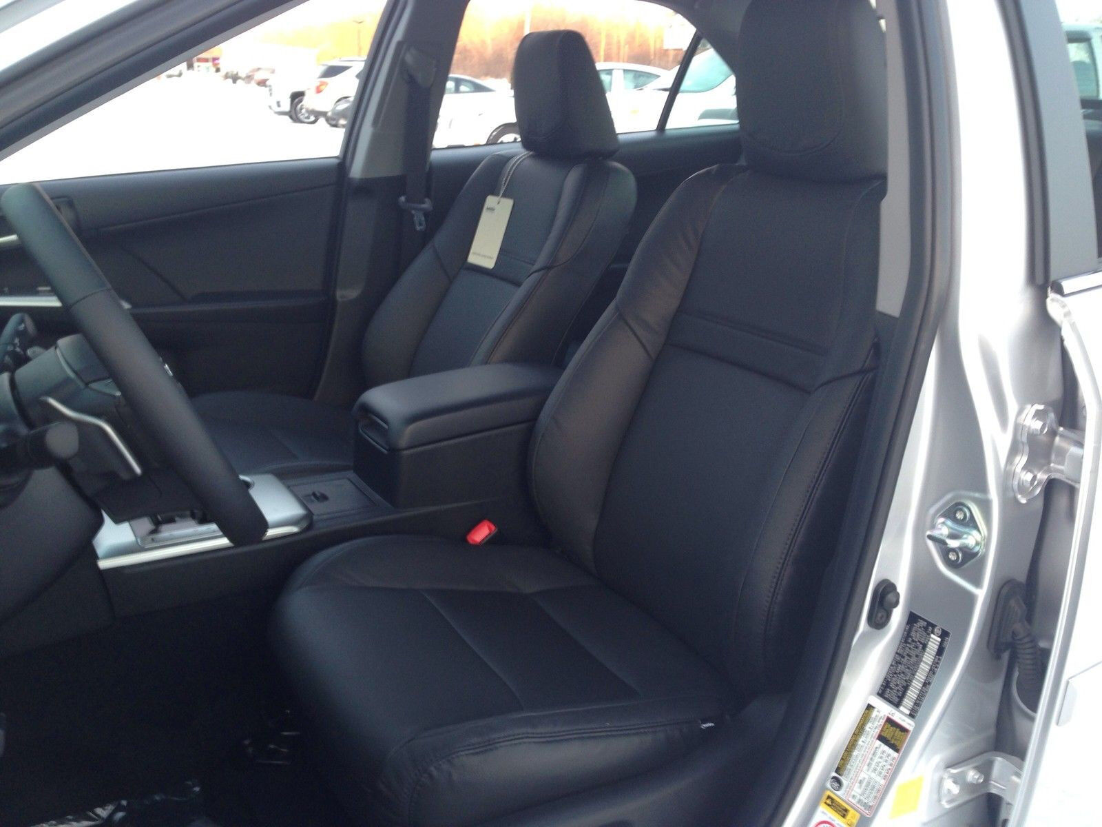 Toyota Camry Interior >> Details About Katzkin Black Leather Interior Seat Cover Kit Fit 2012 2013 2014 Toyota Camry Se