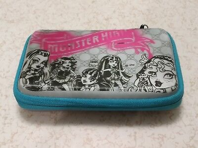 Monster High 3D Effect Zippered Universal Travel Carry Case for Nintendo DS Line - Monster High Universe