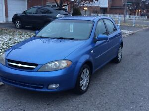 2006 Chevy optra Low Kms Safetied And Emission Tested