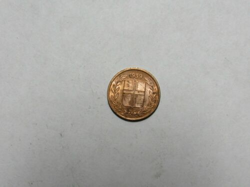 Old Iceland Coin - 1959 1 Eyrir - Circulated
