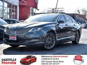 2015 Lincoln MKZ AWD Clean Carfax|Naviation|Self Parking