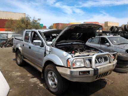 Wrecking 11 Nissan Navara D22 DCab Ute MT 4WD 151104, Parts Only