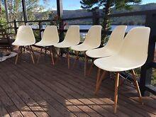 6 x Cream replica Eames DSW Side Chair Paddington Eastern Suburbs Preview