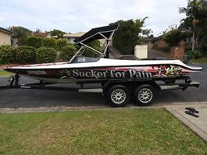 ski Boat Rolco 350 chev wakeboard Korora Coffs Harbour City Preview