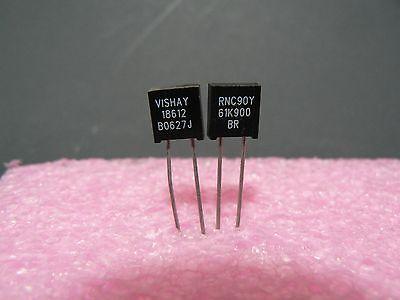 4 Pcs. Rnc90y Series Vishay Metal Foil Resistor Rnc90y61k900br Us Seller