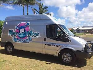 Ice-Cream Mobile Food Van Business Bundaberg Surrounds Preview