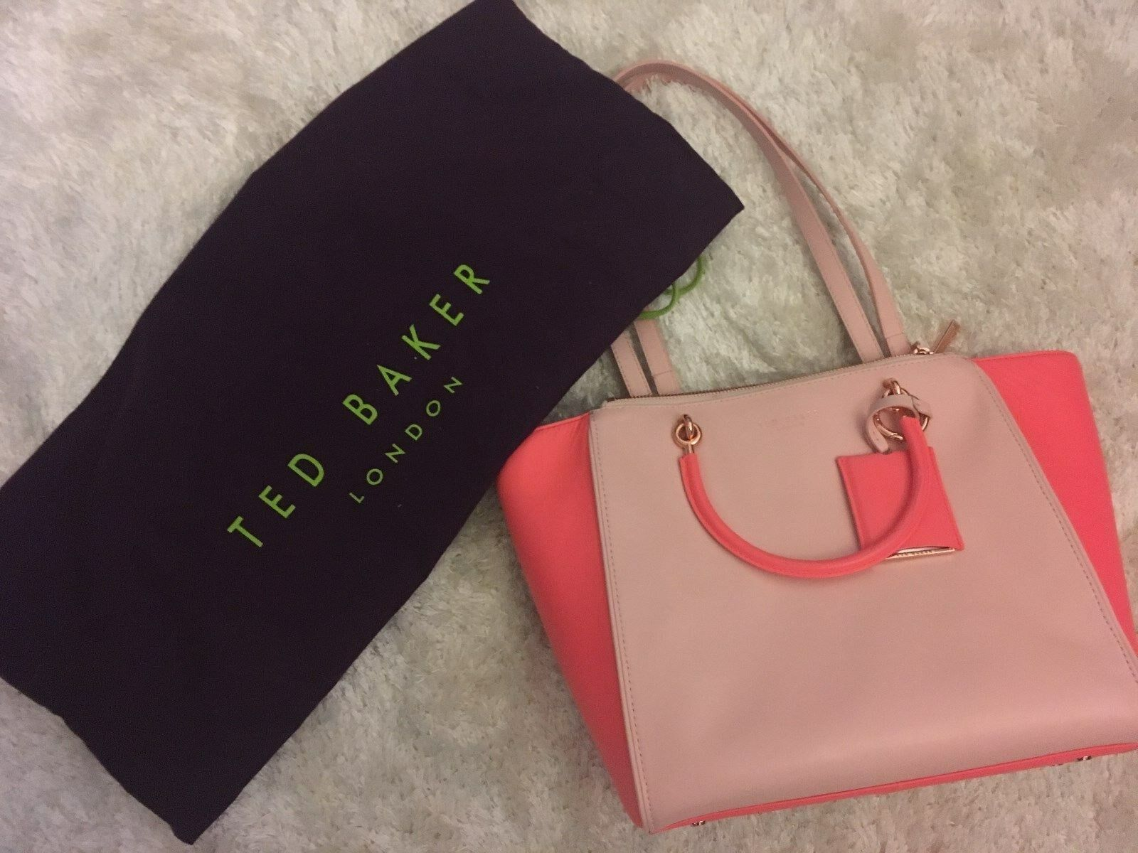 Ted Baker Tasche  Rosa/Pink Shopper, Shoppingbag, Handtasche, Fashion, Lifestyle
