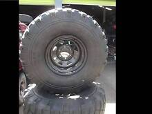 x5 16x10 Sunraysia Rims & Tyres (Have a Look) Slacks Creek Logan Area Preview