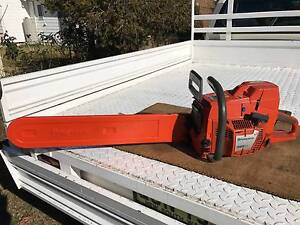 Husqvarna XP395 Chainsaw & Spare Chains Adelong Tumut Area Preview