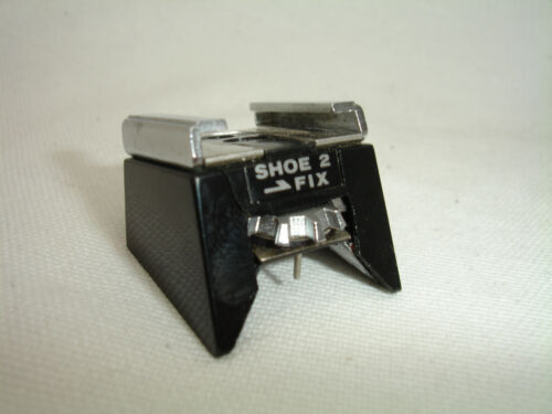 OLYMPUS OM SHOE 2 FIX , FLASH hot shoe adapter for OM-2 OM2 camera  #4132a