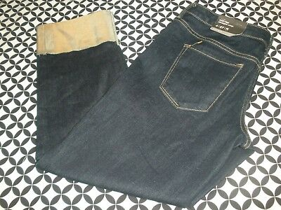 NWT~SUPER STRETCH! WOMEN'S MOSSIMO MID RISE STRAIGHT CROP JEANS  SZ 4/27R~T7728