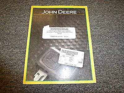 John Deere 7200 8 Wide 12 Narrow Drawn Planter Owner Operator Manual Oma53066