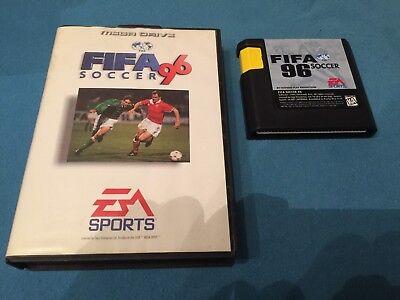 Sega Mega Drive FIFA Soccer '96 OVP TOP, usado comprar usado  Enviando para Brazil